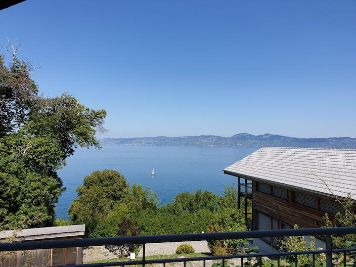 Maison individuelle 6 couchages avec vue lac