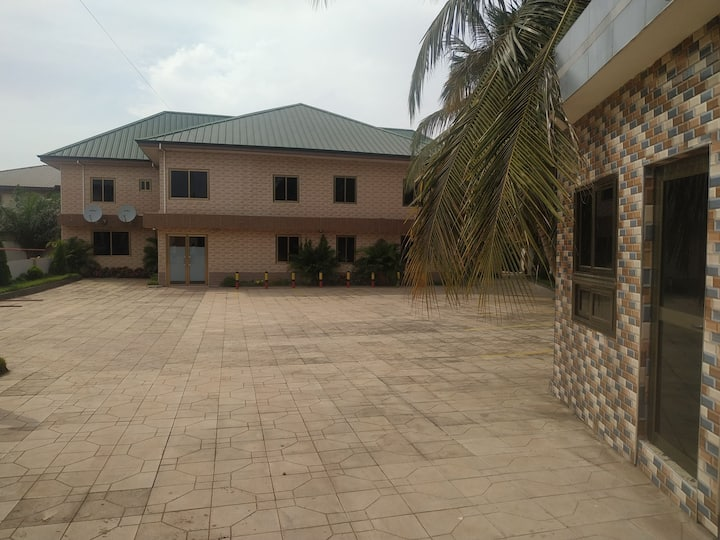 Holiday in Comfort Near Accra's finest Homes.