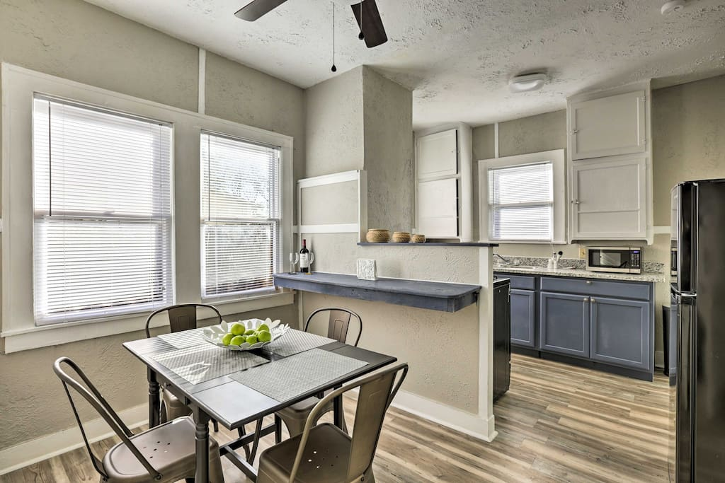 'Alta Vista' offers a fully equipped kitchen, free Wifi and a great layout!