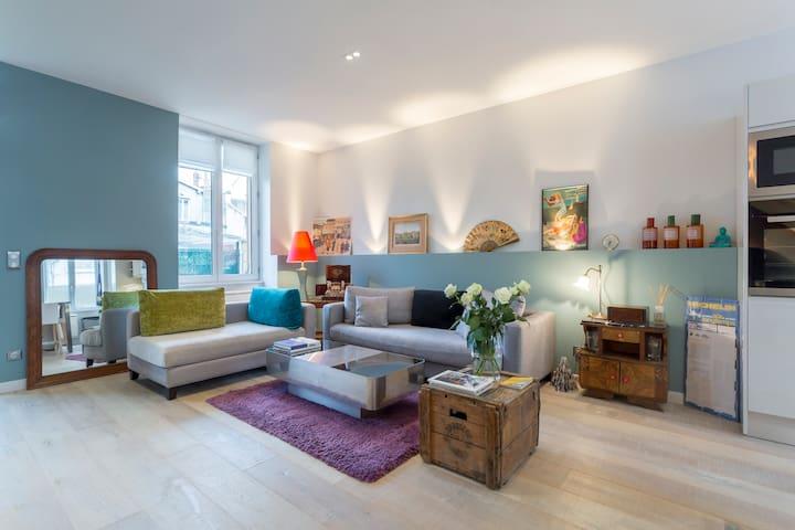 Duplex idéal Famille ou Fête des Lumières +garage - ลียง - อพาร์ทเมนท์