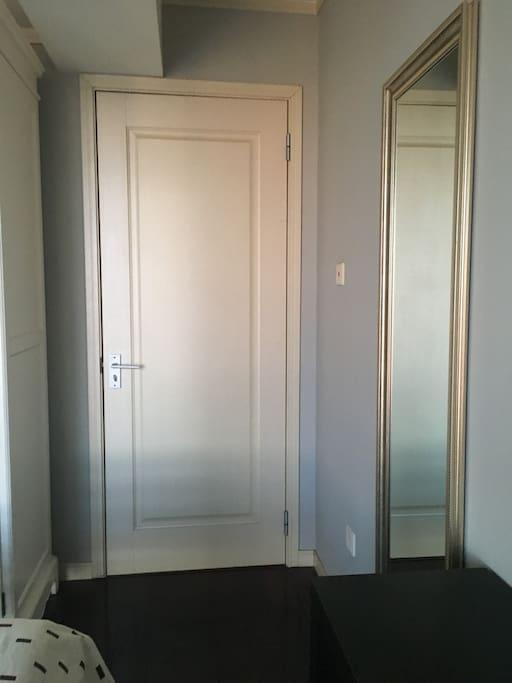 Door of the room