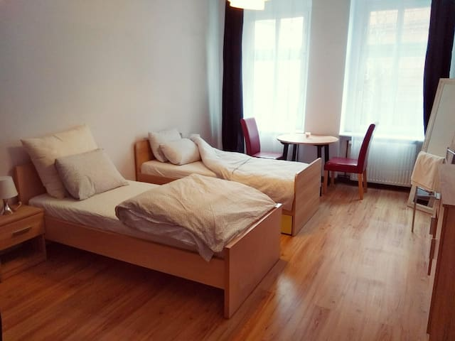 Centrum, Cozy, Clean Room, Twin Bed