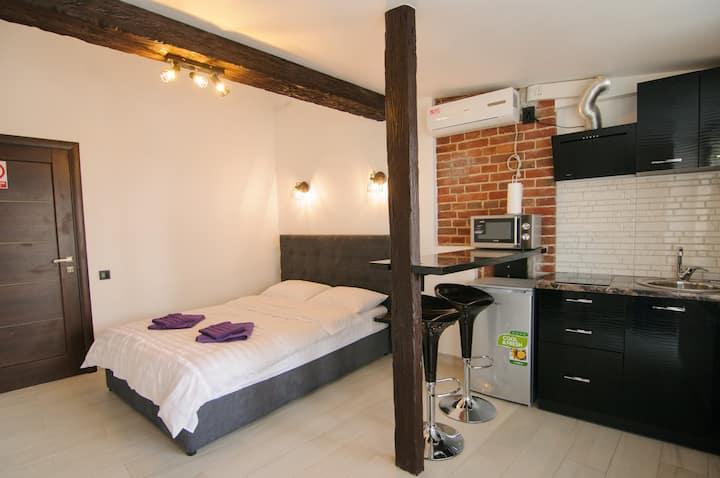Дизайнерская квартира в  стиле Лофт