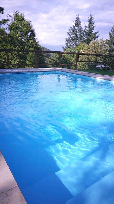 Casa a sola con piscina privata | pet friendly
