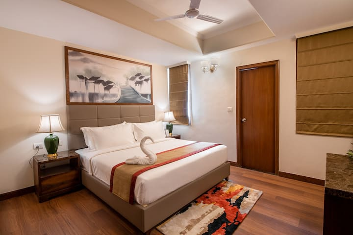 A  Boulevard Room in Shimla