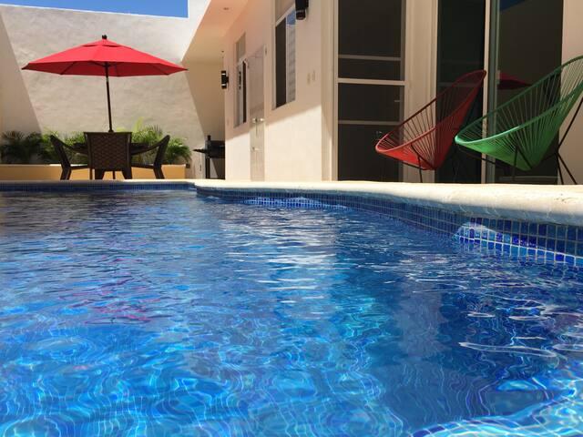 VILLA PARADISO PERDUTO - Puerto Morelos - Villa