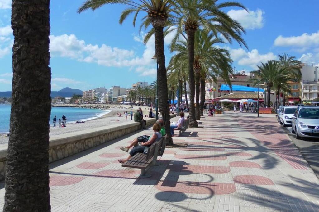 Javea  | boulevard  Puerto