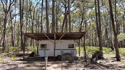 Rustic Private Caravan in the Bush (no shower)
