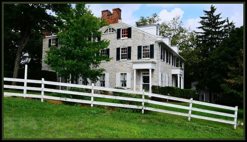 The Stone Manse Inn - New Cumberland - Bed & Breakfast