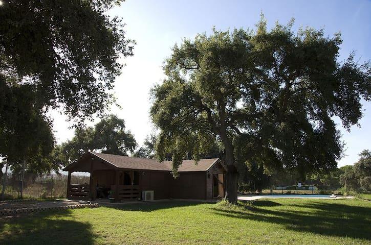 EL CHAPARRO - Casa de madera en plena naturaleza. - Arcos de la Frontera - Doğa içinde pansiyon