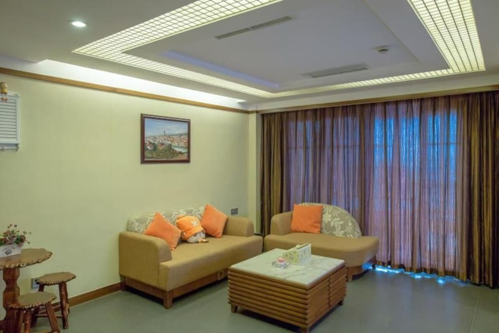 温馨宽畅的客厅