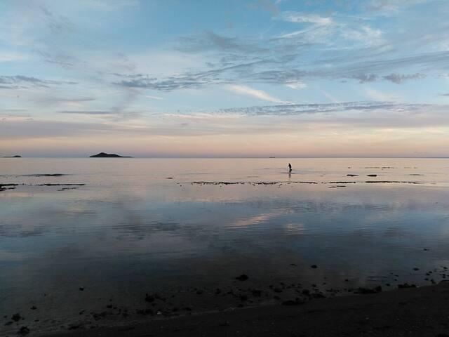 Bungalow indépendant à 50 mètres de la mer