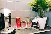 Cafe et the offert pendant vos séjours