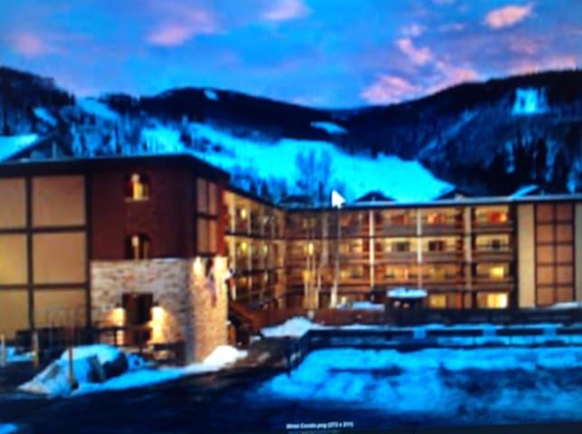 Hotel condo sleeps maximum 6 person - Vail - Lägenhet