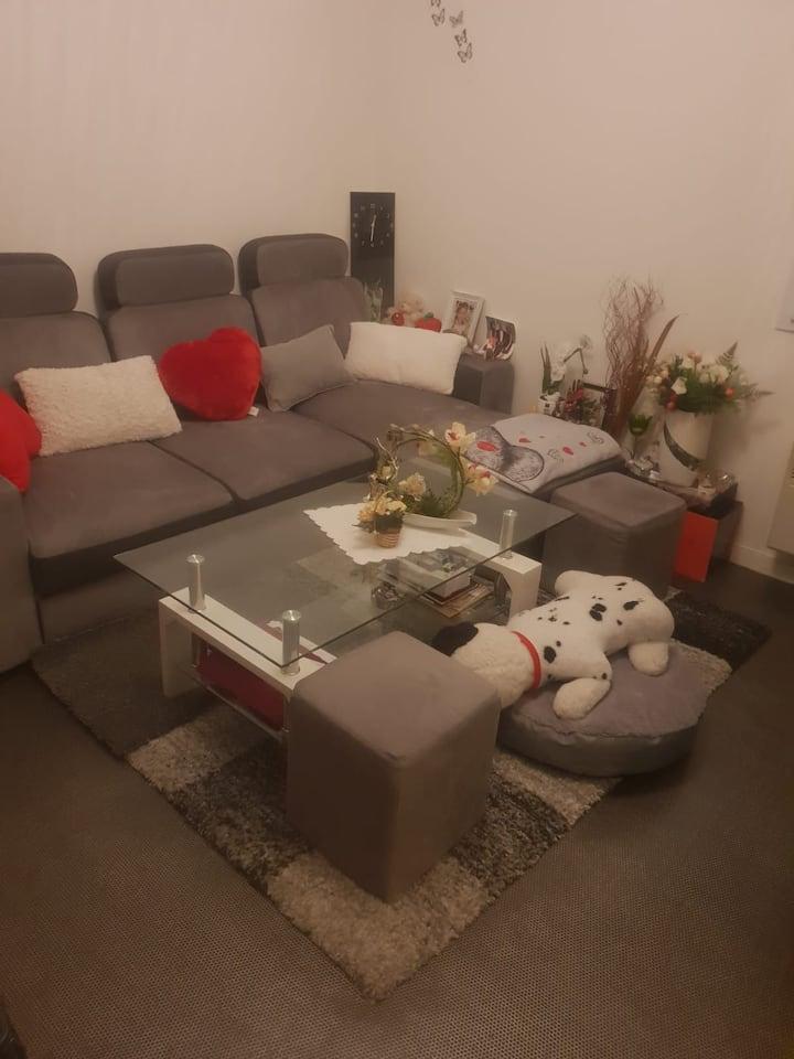 Chambre privée-confort, située au cœur de Brest