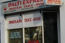 Balti Express, my great local Indian take-away!