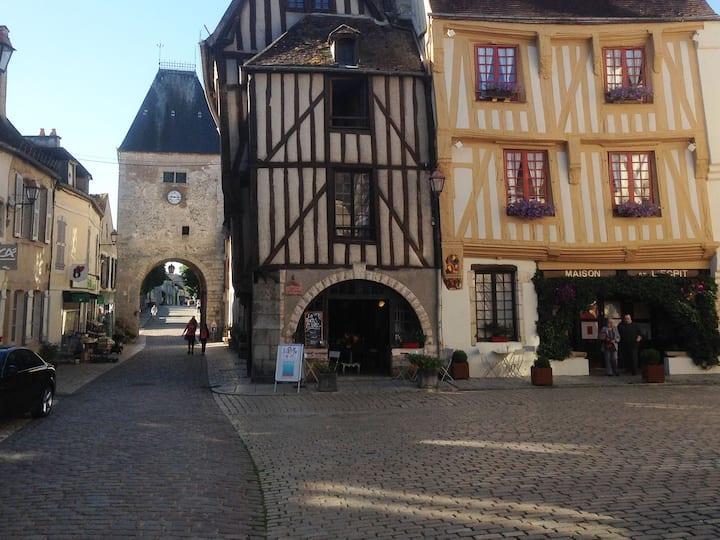 Cité médiévale :  Maison familiale de charme