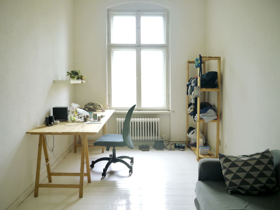 This is your studio/workspace/living room (yours alone – I have my own one)