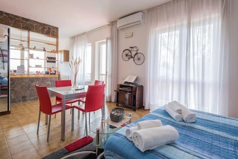 Il Cipresso  appartamento luminoso e panoramico