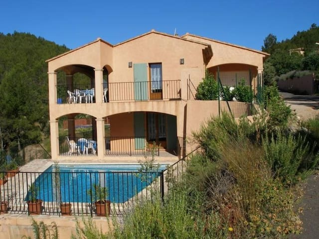 Villa in the french vineyards with a private pool - Brignoles - Villa