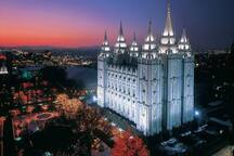 Temple Square is the Heart of the City