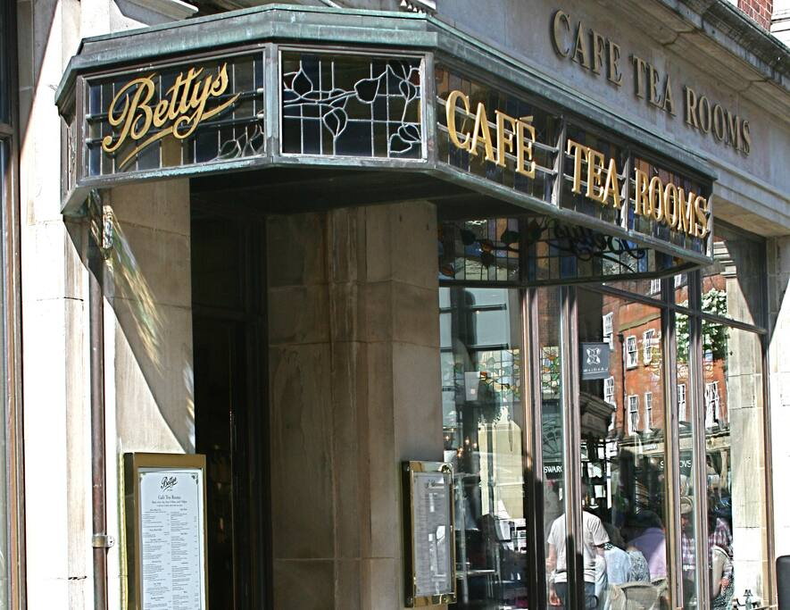 World-famous Bettys Café - just yards from Stonegate Court
