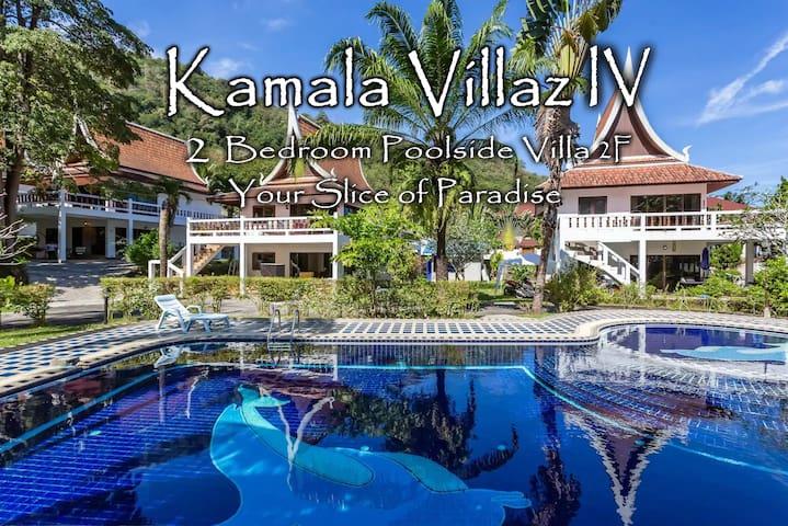 Kamala Villaz IV - 2 Bdrm. Poolside Villa