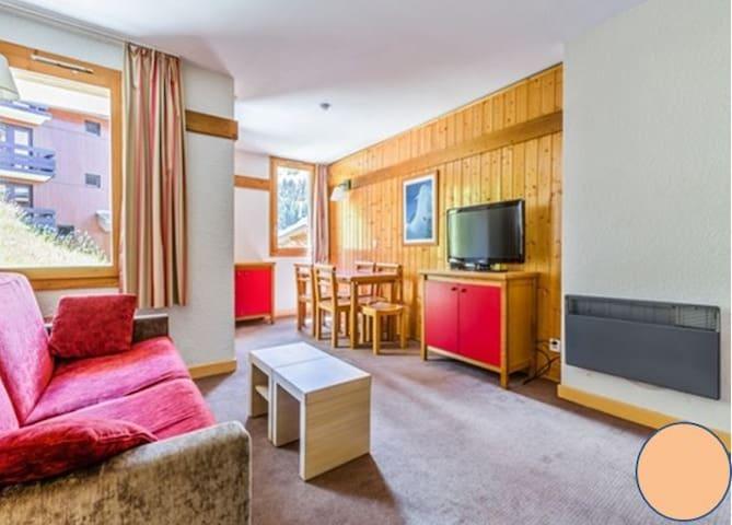Charmant logement  avec Balnéo - La Plagne 1800