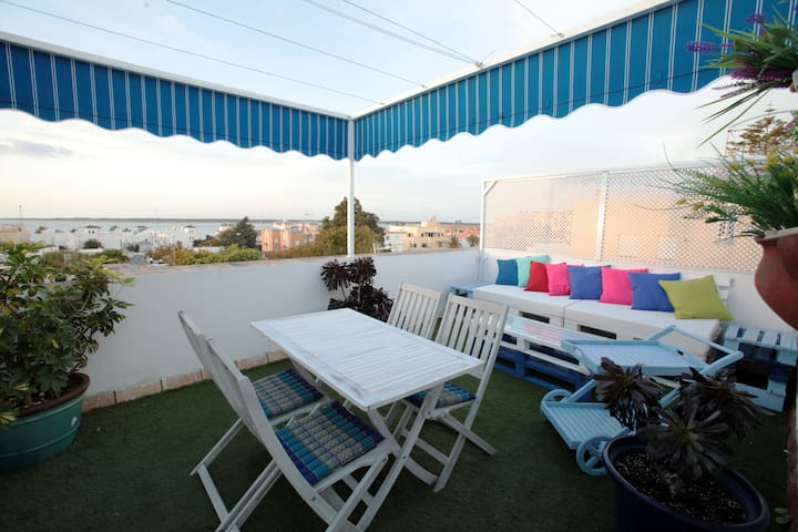 Ático con encanto entre playa  y centro - Sanlúcar de Barrameda - Condominium
