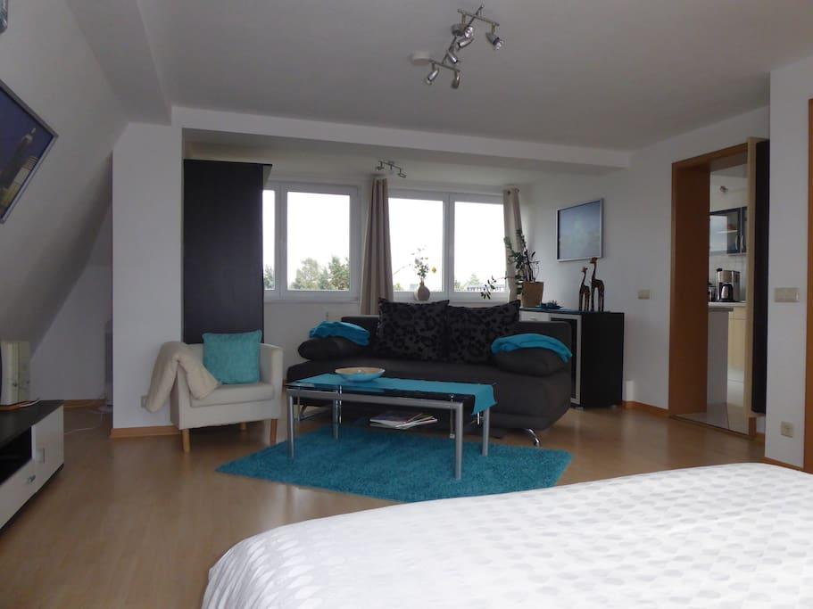 Dg Apartment 40m Mit Kl Balkon F R 2 Personen