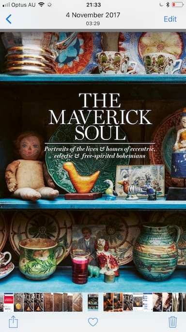 Be a Maverick for your chilled out stay. Take care of out funky little Boho Home. Maybe you'll love the book too.