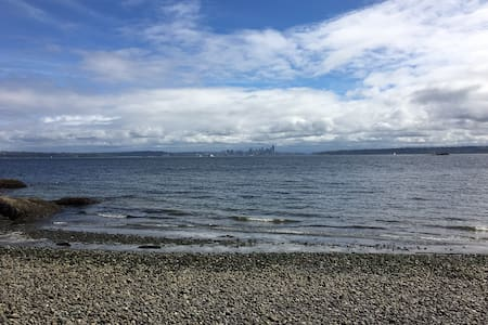 Vacation Home on Rockaway Beach (Lower Floor) - Bainbridge Island
