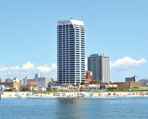 Beach Condo @ Atlantic Palace in Atlantic City