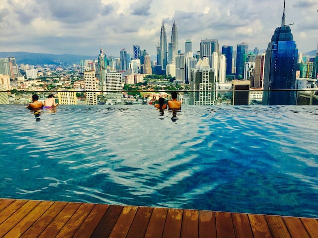 YiMi 7pax Suite @ Regalia KLCC - Kuala Lumpur - Appartement