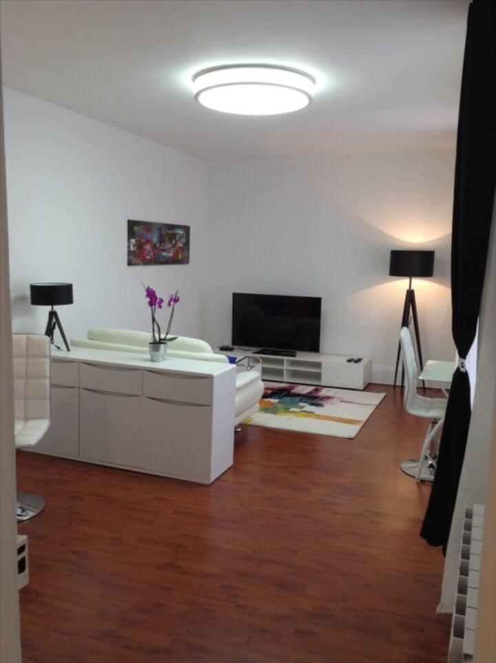 Appartement très calme, cosy, centre Fontainebleau