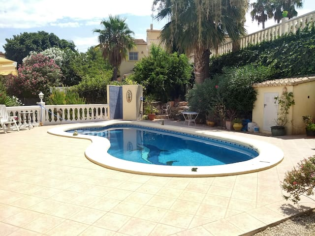Javea (Xàbia) - Own Apartment in Villa with Pool