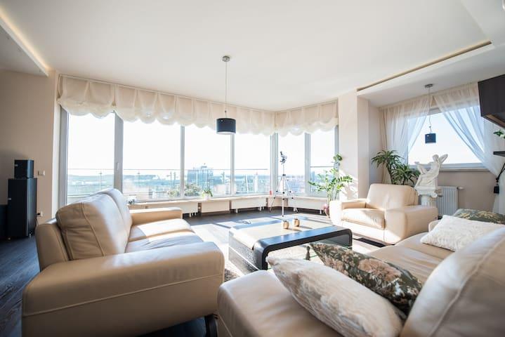 Breathtaking penthouse in Klaipeda