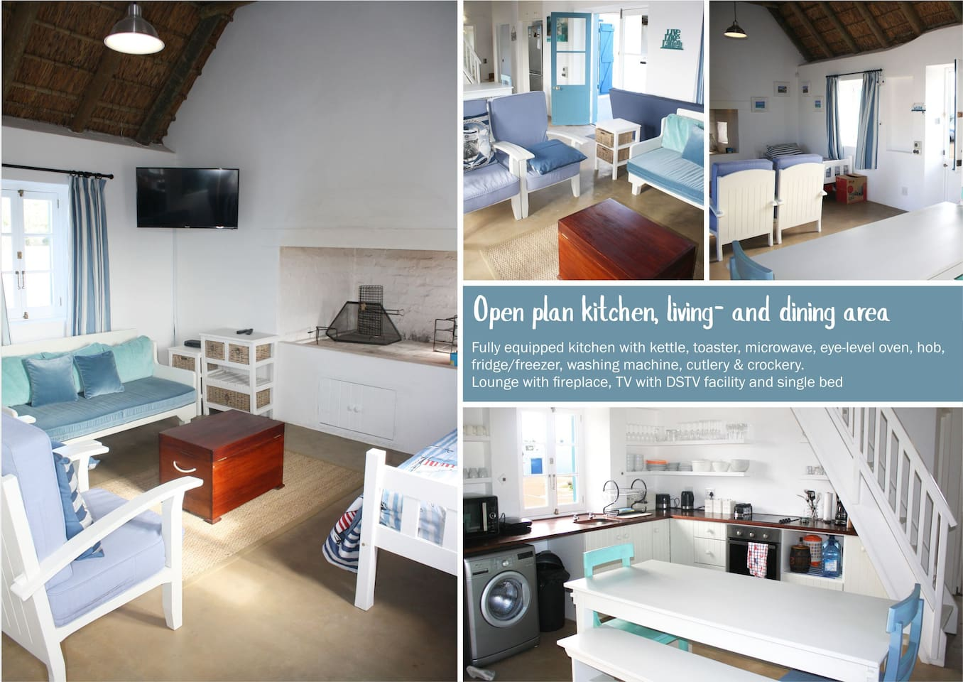 Kassie huisie - Cottages for Rent in Struis Bay, Western Cape, South ...