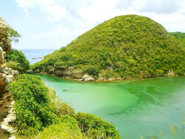 #Cottage MontECOrales rio playa corales, montañas