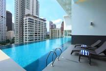 Cool infinity pool