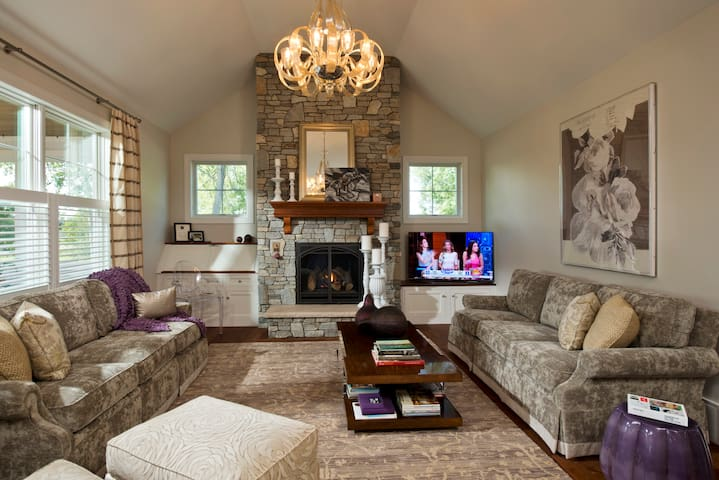 Summer in Saratoga Rental for Track/ SPAC events - Saratoga Springs - 獨棟