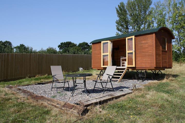 Howfield Shepherds Hut 'Oak' - Canterbury - Stråhytte