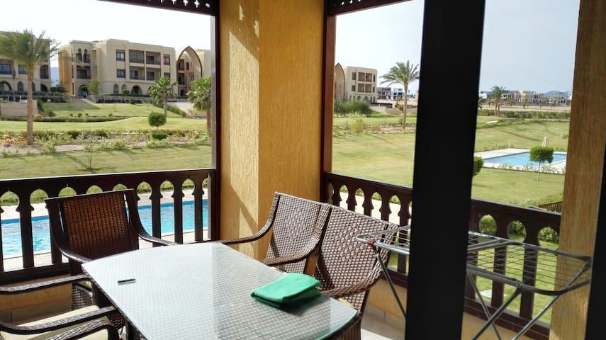 Amazing Golf view, 2 bed room apartment - Sharm El-Sheikh - Byt