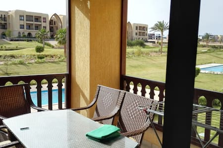 Amazing Golf view, 2 bed room apartment - Sharm El-Sheikh - Daire
