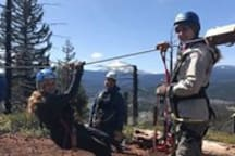 Crater Lake Zipline is less than 20 minutes away.  Includes 9 zipline tree-to-tree canopy tour through the Fremont-Winema National Forest.  They also offer a SYAK package through ROE Outfitters that combines the 9 canopy course, lunch, and guided kayaking through Malone Springs.
