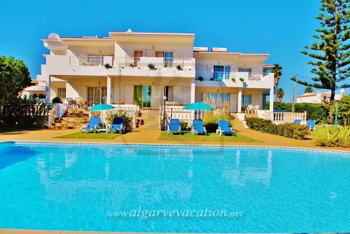 LOVELY 2 BED APART,SEA VIEW,FREE HEATED POOL,BV 1 - Albufeira - Wohnung