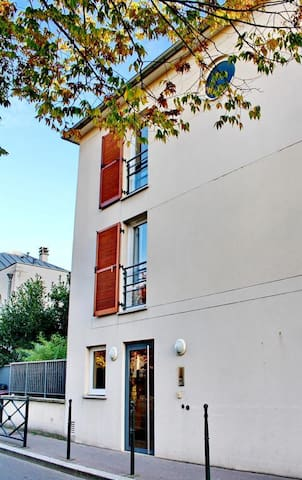 lovely studio terrasse parking - Parijs - Appartement