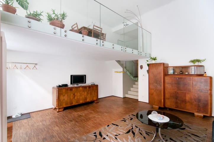 Spacious Vintage/Design Duplex in central position - Wiedeń
