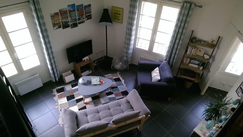 Joli appartement proche mer - Martigues - Apto. en complejo residencial