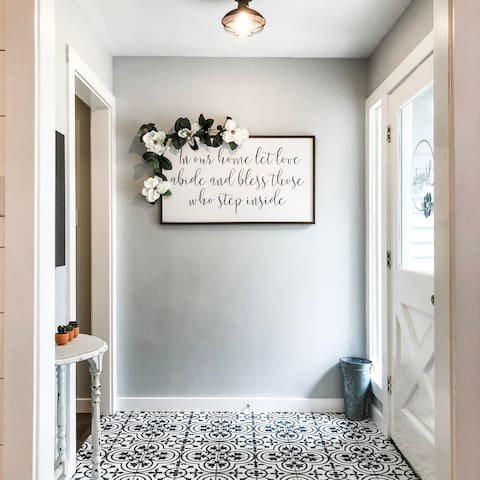 Entry way to Main House